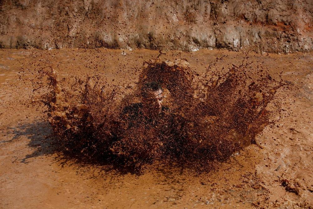 Гонка по грязи в Тель-Авиве