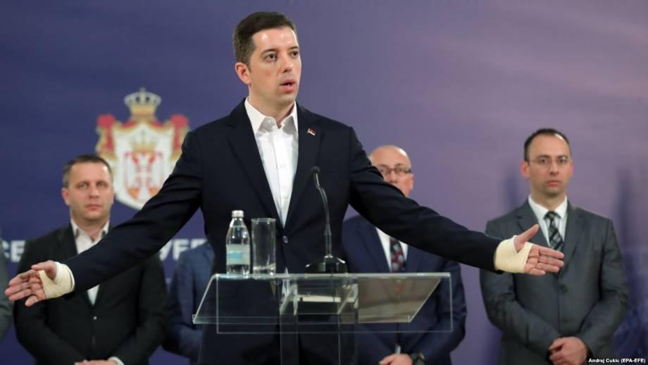 Косово: этнические сербы вышли из состава правительства после выдворения чиновника