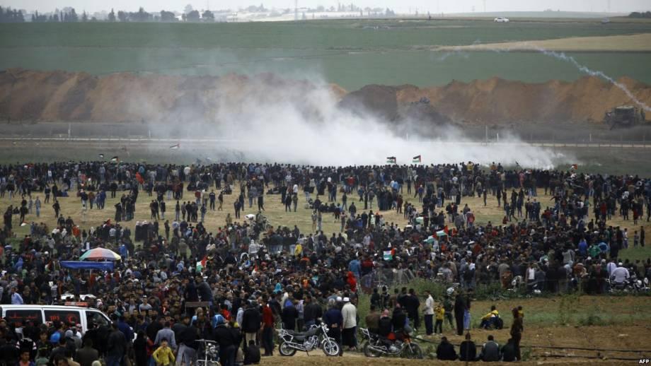 До 10 возросло число погибших в протестах в Полосе Газы палестинцев
