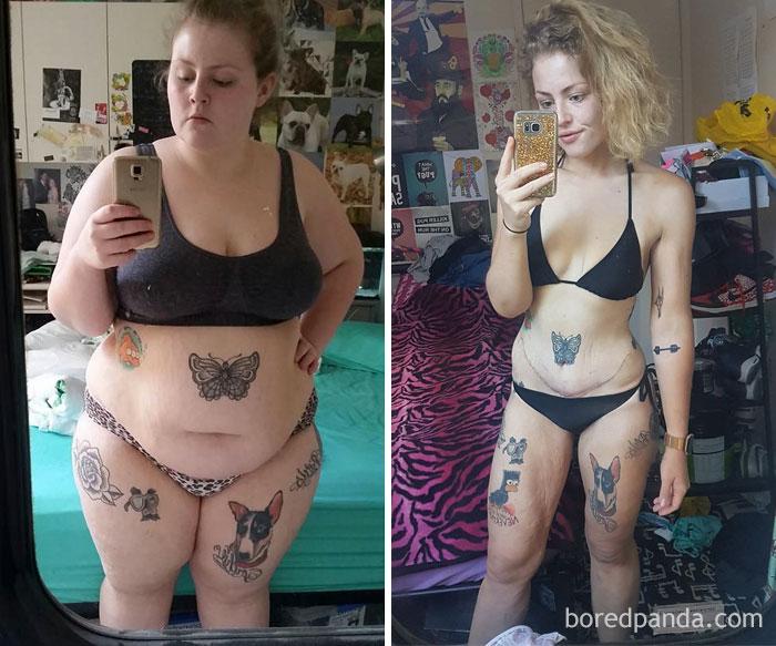 За 13 месяцев похудела более чем вдвое и открыла жизнь заново.