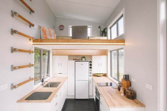 Дом-прицеп площадью всего 17 кв м, в котором реализованы лучшие идеи комфортной