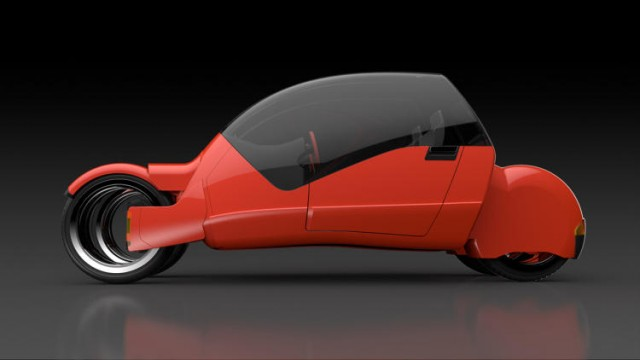 Concept Car Splits Into Two Motorcycles