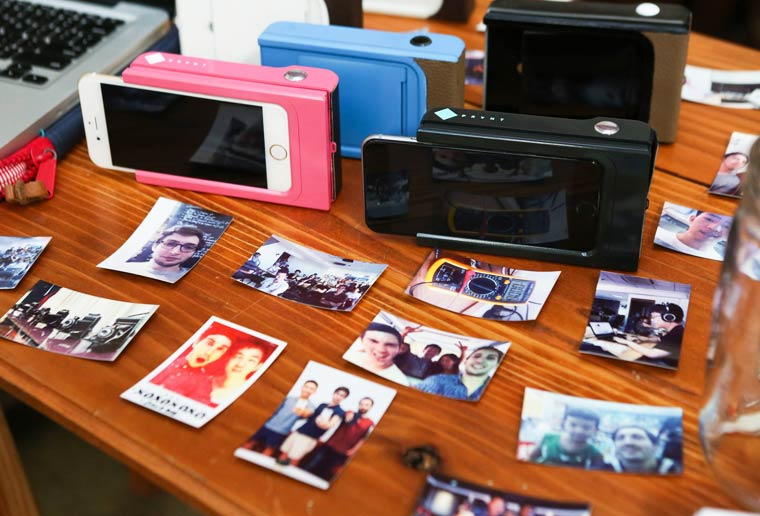 Prynt – Turn your smartphone into an instant camera with augmented reality
