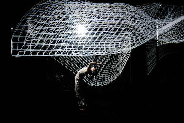 projection maps Performance interactive 3d