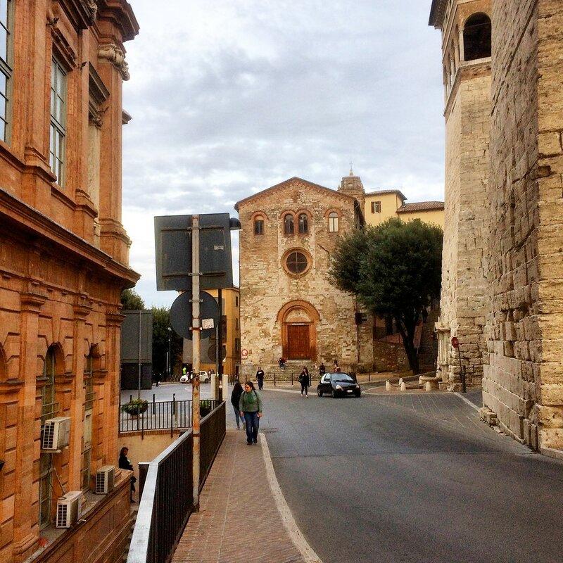 Улицы Перуджи