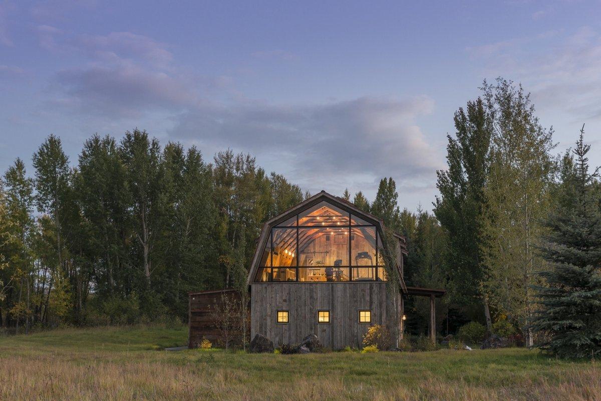 Гостевой дом из старого сарая