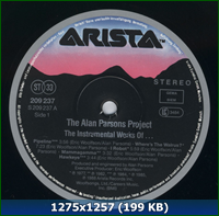 24/192 flac] The Alan Parsons Project 1988 The Instrumental Works