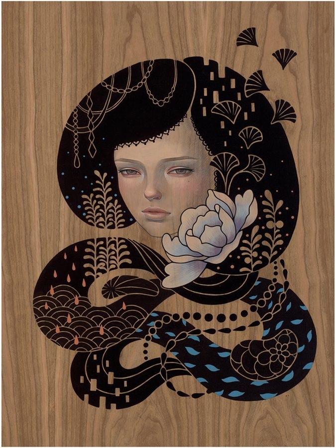 Midnight Reverie – Audrey Kawasaki (8 pics)