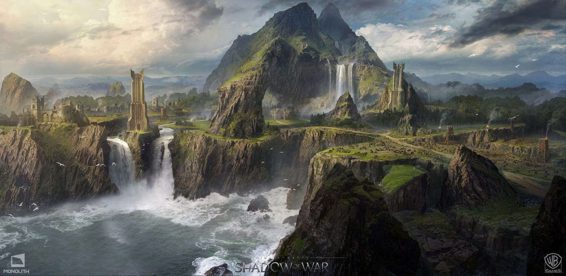 Middle-earth: Shadow of War Concept Art by George Rushing
