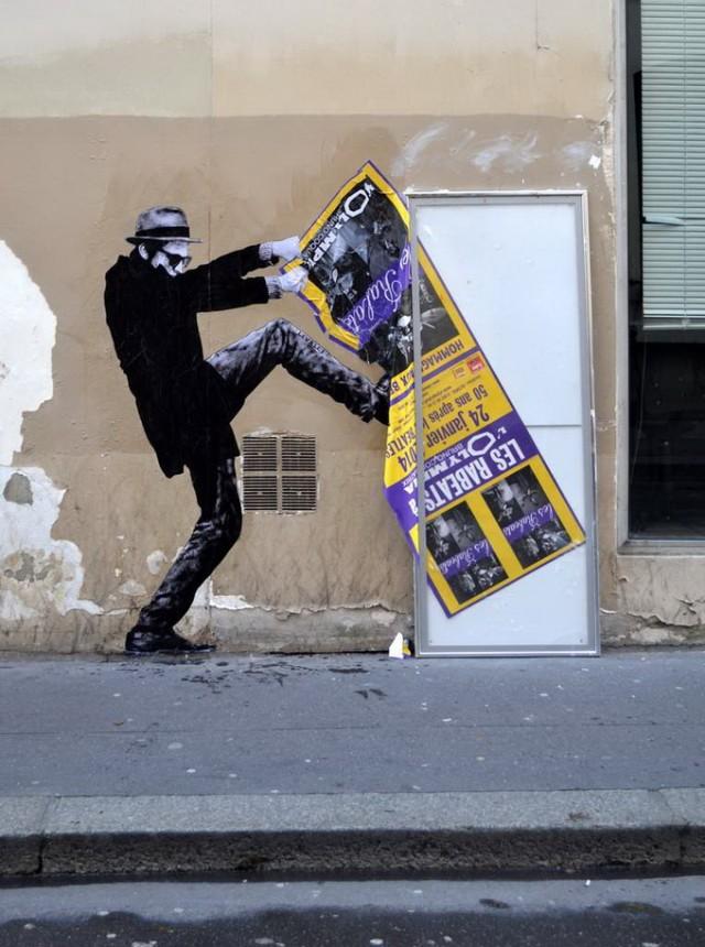 Street Art by Charles Leval