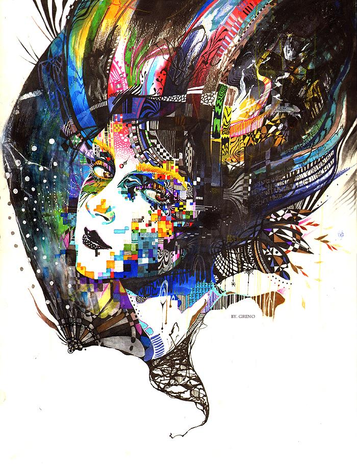 Illustrator - Minjae Lee - Greno