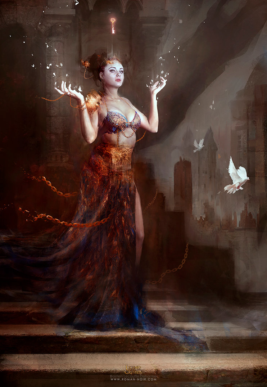 Amazing Digital Illustrations by Bastien Lecouffe Deharme