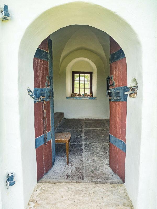 Предполагается, что церковь Николы построена в XVII в. на месте более древнего храма.