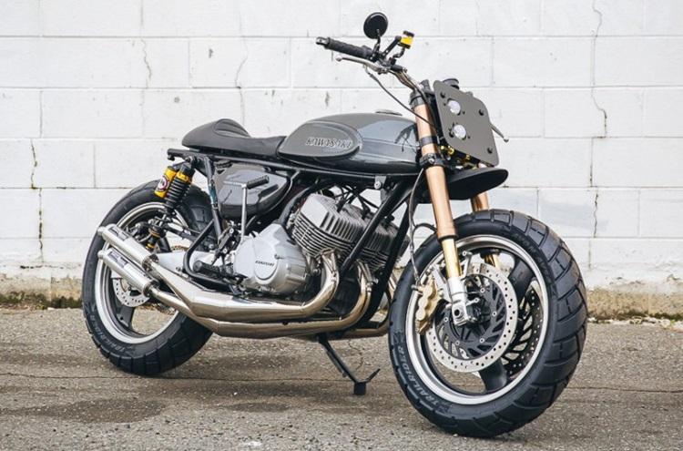 Vallantine Motor Works: Стрит-трекер Kawasaki H1