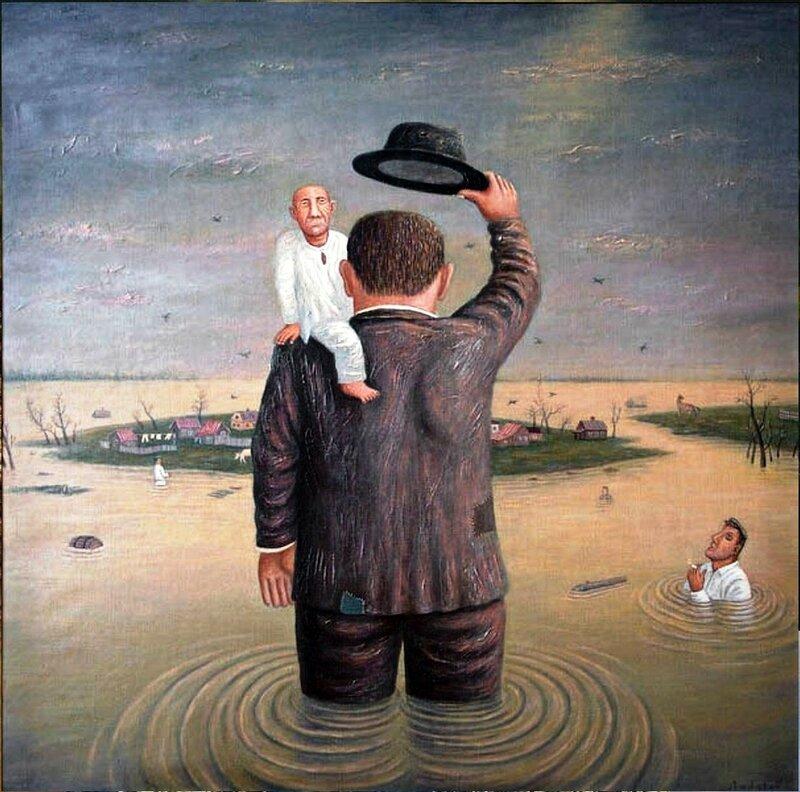 Земля! , 2005 год, художник Владимир Любаров.jpg