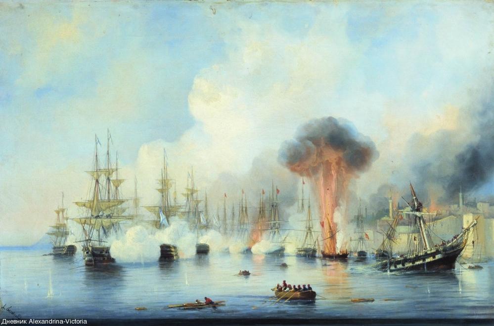 Синопский бой 18 ноября 1853 года
