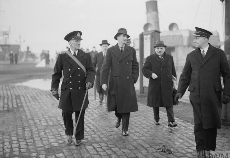 29 декабря 1941. Возвращение министра иностранных дел Энтони Идена и Ивана Михайловича Майского, чрезвычайного и полномочного посла в Великобритании, после поездки в Советский Союз