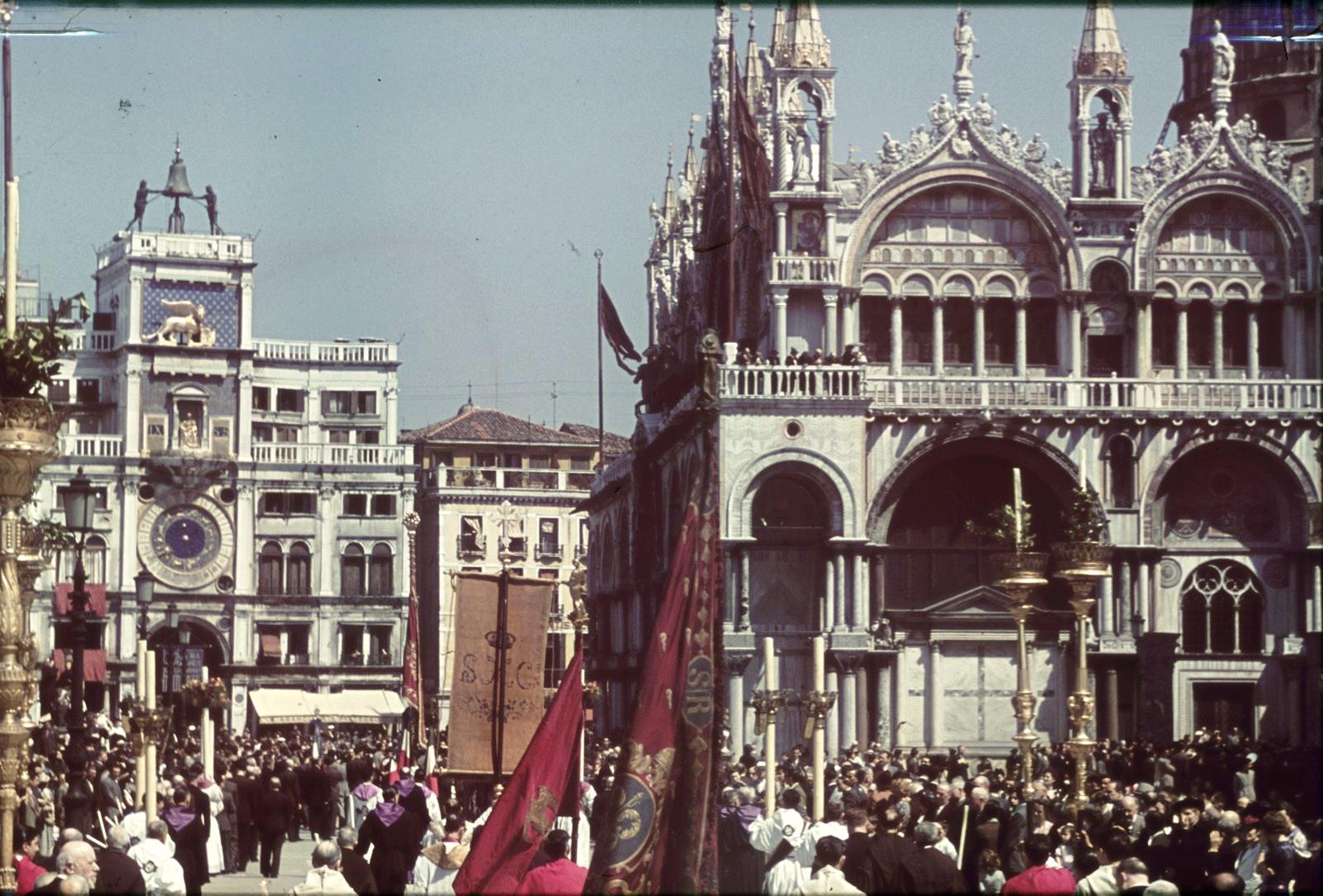 Площадь Святого Марка. Часовая башня Святого Марка