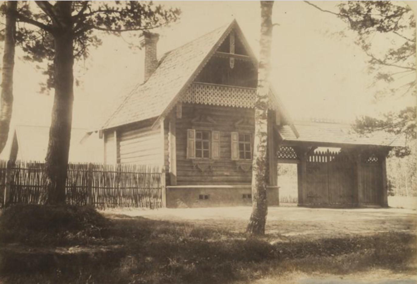 Лесная сторожка на Старом шоссе. 1866