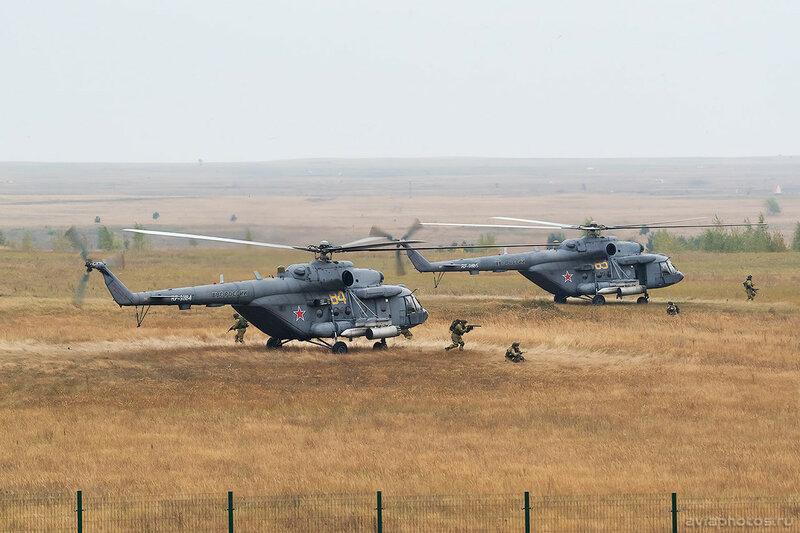 Миль Ми-8МТВ-5 (RF-91184 / 84 желтый) ВКС России 0477_D806152