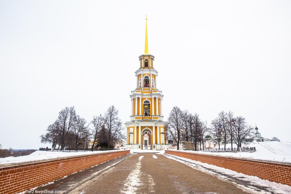 Рязань. Прогулка по городу рязанская область