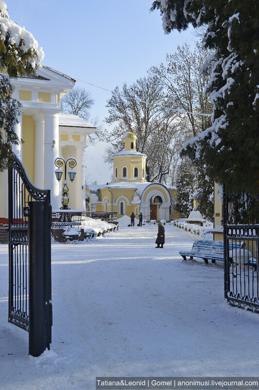 Зима в Гомеле