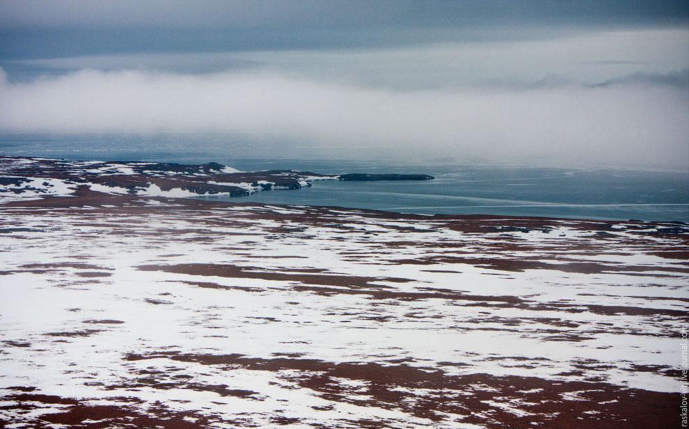 Побережье Карского моря — окраинного моря Северного Ледовитого океана:
