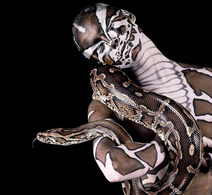 Животные инстинкты: фото моделей в зверином обличии (19 фото)