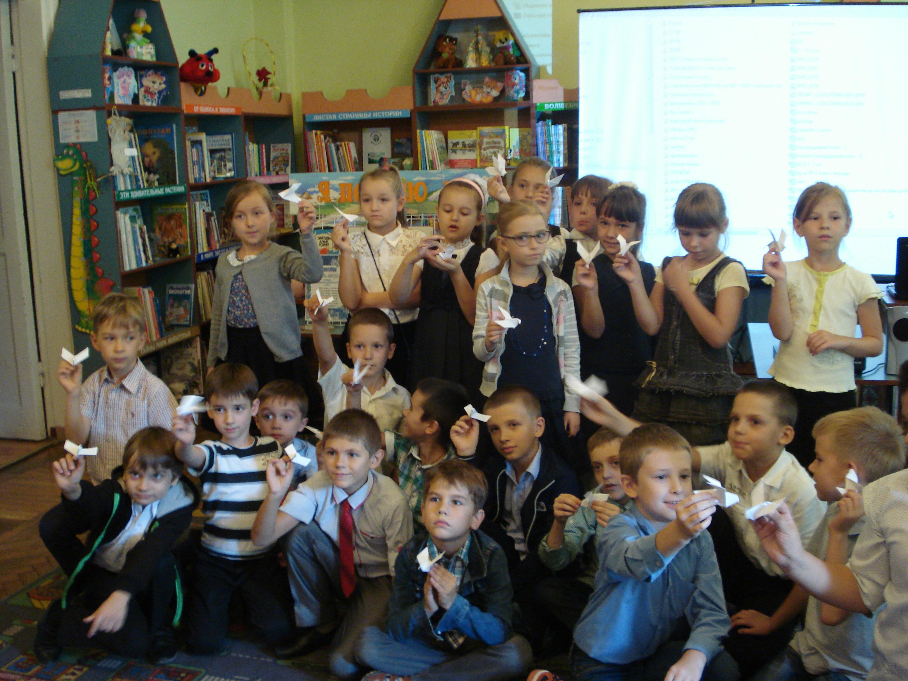 фейерверк детских книг, донецкая республиканская библиотека для детей, привлечение детей к чтению, отдел обслуживания дошкольников и учащихся 1-4 классов
