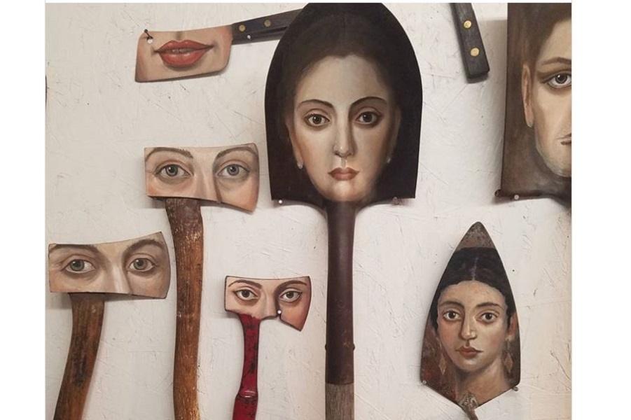 Художник- иллюстратор Александра Диллон и ее уникальные портреты на использованных предметах