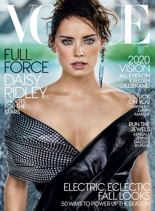 The Last Jedi: Daisy Ridley Stuns for American Vogue November 2017 (5 pics)