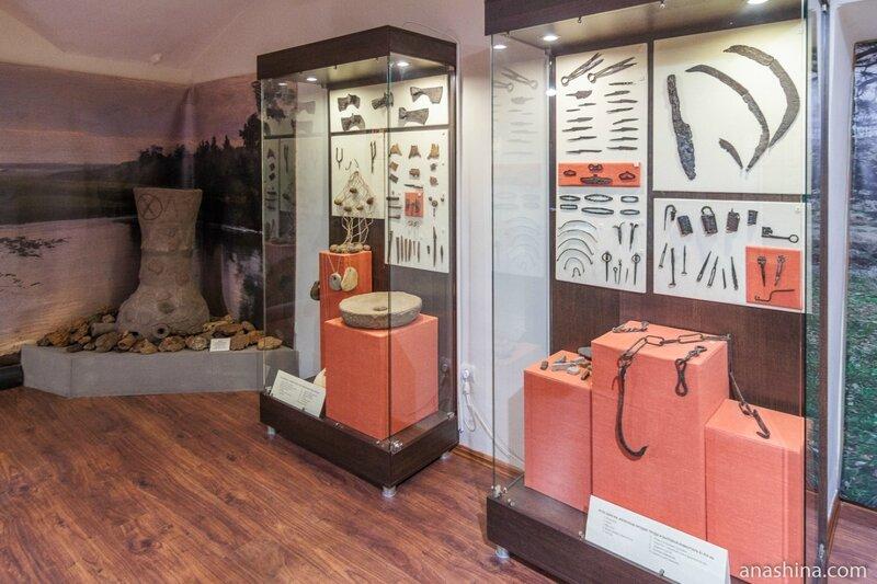 Экспозиция, посвященная древнейшей истории Рыбинска