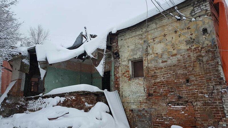 Саморазрушение палат. Кожевническая ул. Фот. Екатерина Ванеева
