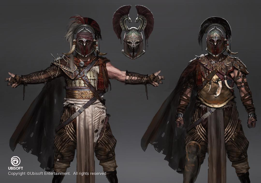 Assassin's Creed Origins Concept Art by Jeff Simpson (14 pics)