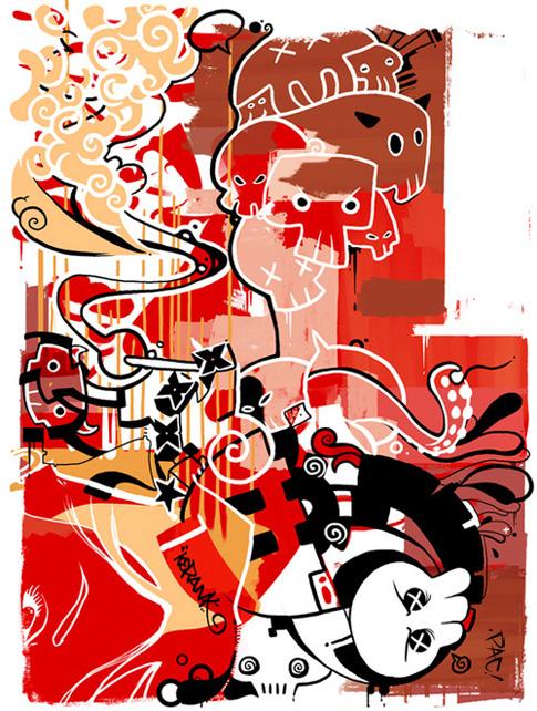 Illustrator – Character Designer – Francisco Perez aka Pac23 (18 pics)