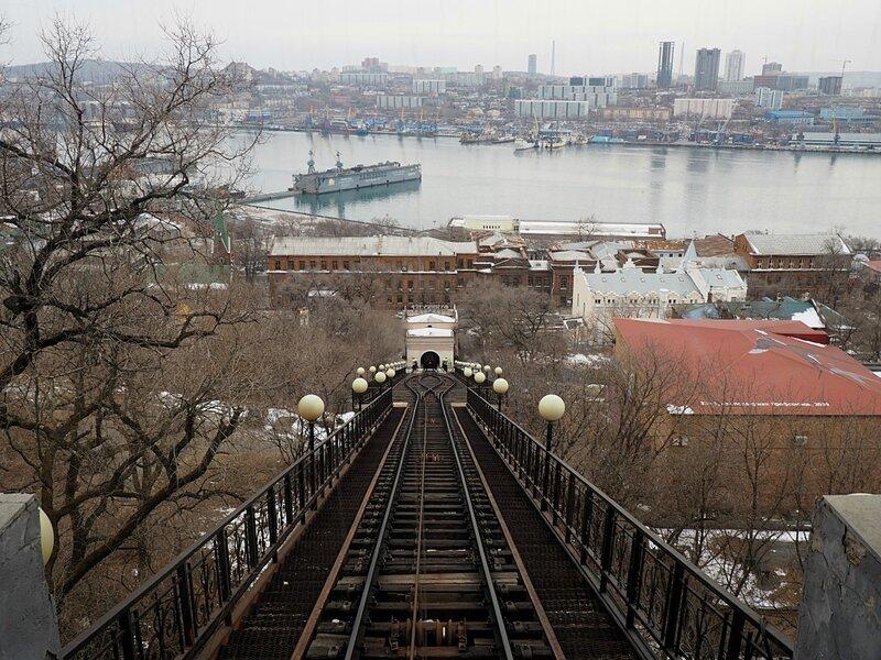 Владивосток, фуникулер (Vladivostok, funicular)