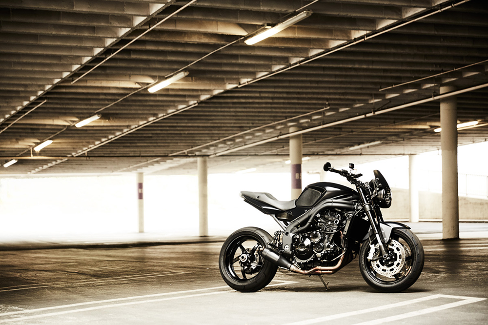Стэн Эванс: Triumph Speed Triple 2009 New Order