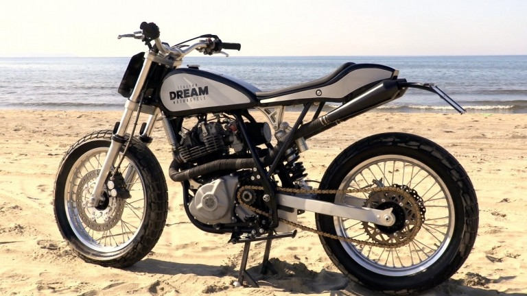 Italian Dream Motorcycle: трекер Dream Tracker 600 на базе Suzuki DR600