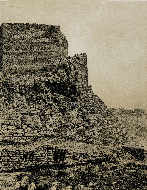 61. Эль-Карак. Южная сторона крепости