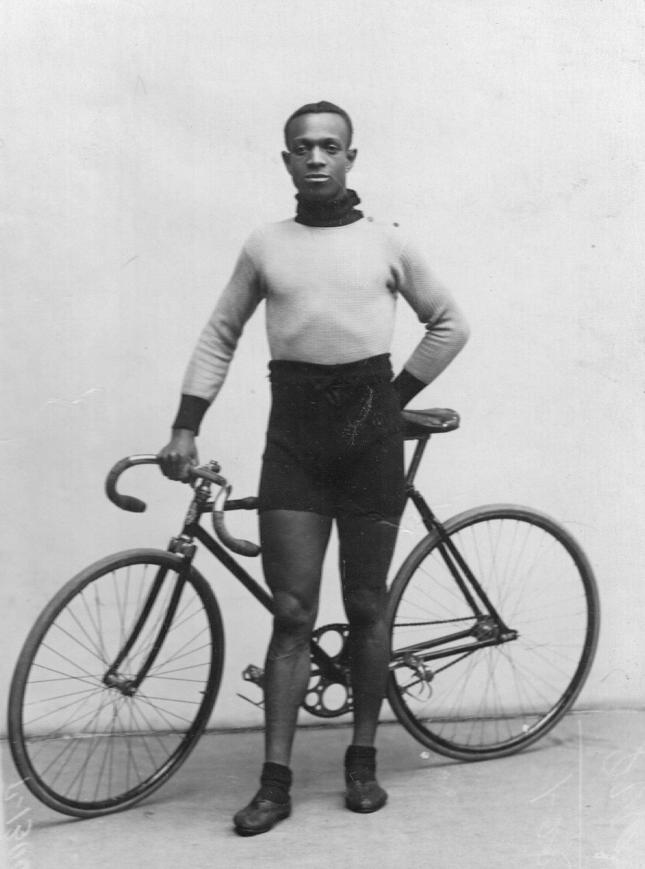 Велогонщик, чемпион США Тейлор