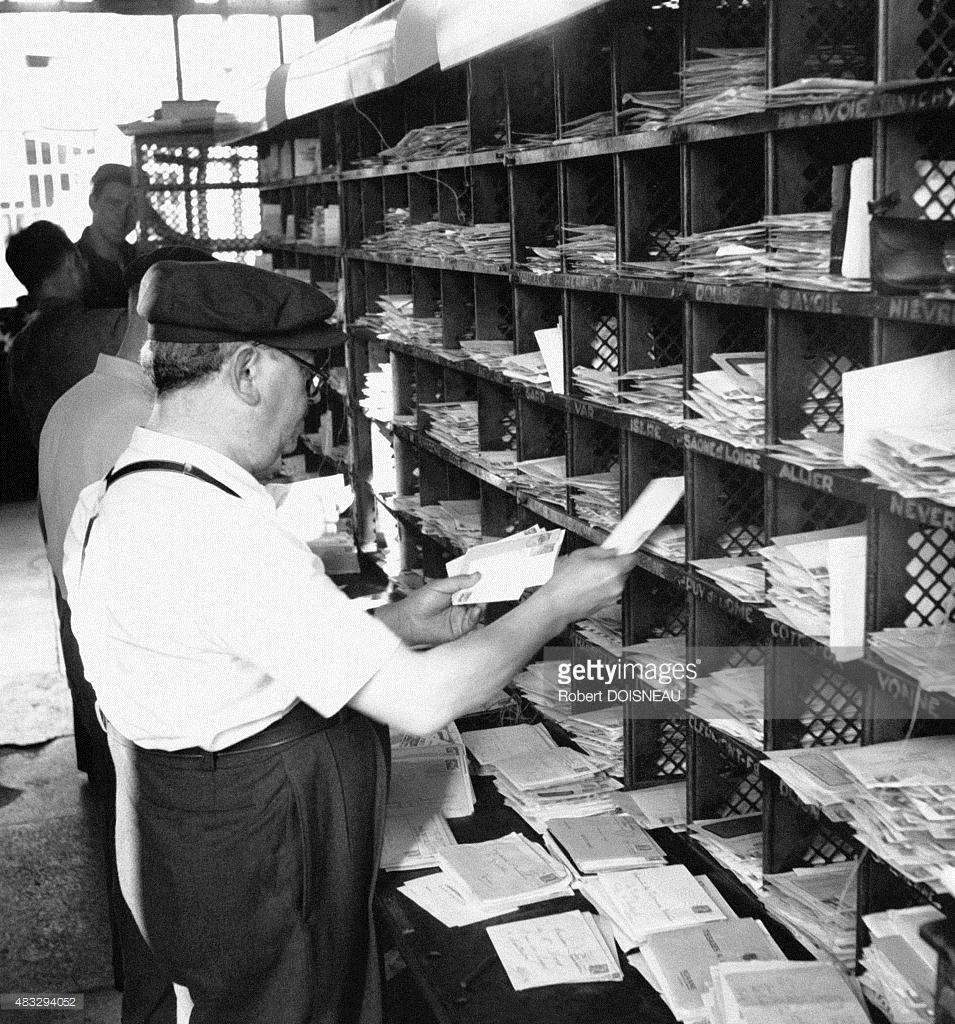 1950-е. Сортировочный узел. Франция