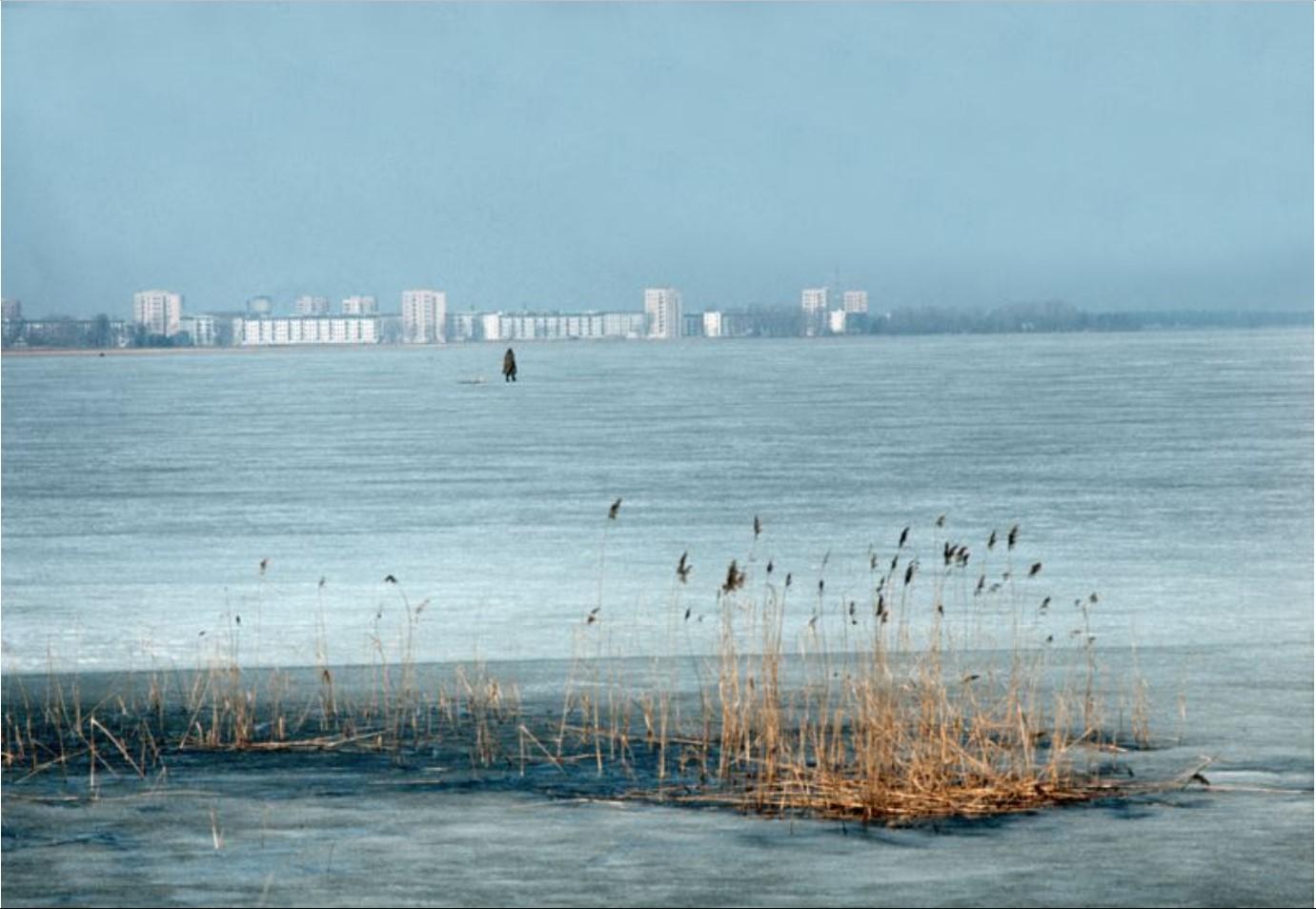 Нева зимой
