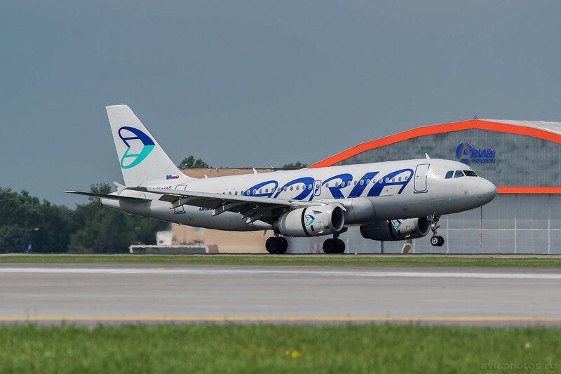 Airbus A319-132 (S5-AAR) Adria 332_D802111