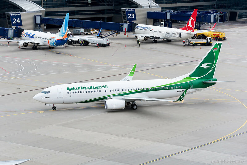 Boeing 737-81Z (YI-ASV) Iraqi Airways 0151_D705673
