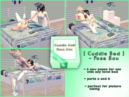 [ Cuddle Bed ] - Posebox by Screaming_Mustard