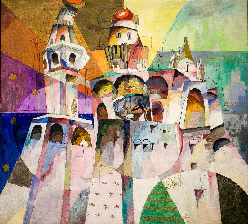 Звон. Колокольня Ивана Великого, 1914