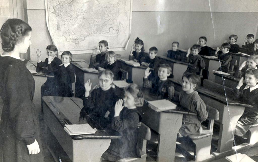 87 (женская) школа 1950 год
