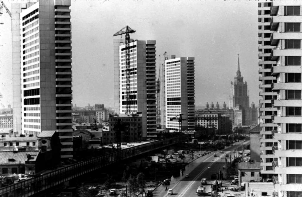 Проспект Калинина, 1967 год
