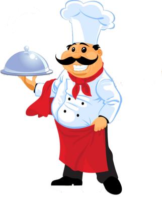 Международный День повара. Улыбчивый повар открытки фото рисунки картинки поздравления