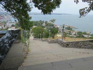 Лестница на гору Митридат в Керчи